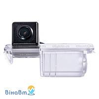 Камера заднего вида Fighter CS-CCD+FM-13 для Volkswagen Golf VI, Golf VII, New Beetle, Cross Polo, Scirocco, Jetta, Seat Toledo, Leon, Porsche Cayenne