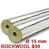 ROCKWOOL 800 [Внутренний диаметр цилиндра(15м)  /Толщина изоляции (мм) 40 ] , фото 2
