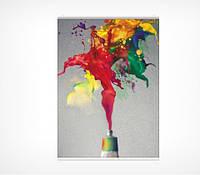 Зажим для плакатов пластиковый 150 мм (А5 верт)