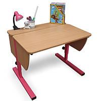 Детская парта растишка стол трансформер Понди Школьник из ДСП