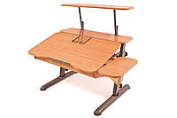 Детская парта растишка стол трансформер Pondi / Понди Эргономик из ДСП