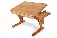Детская парта растишка стол трансформер Понди Пондик из натурального Бук