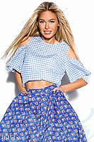 Модная укороченная блузка