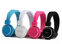 Наушники Bluetooth KCH-T018  - экран, MP3,FM радио (Черные)