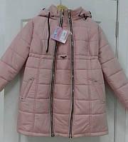 Теплая зимняя куртка для беременных 2 в 1 Mommy S-XL разных цветов пудра