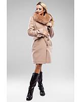Молодежное кашемировое зимнее пальто рр 48