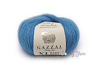 Gazzal Baby Wool XL, электрик №822