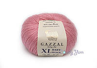 Gazzal Baby Wool XL, розовый №828