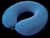 Подушка-подголовник дорожная Coverbag синяя