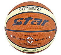 М'яч баскетбольний PU STAR JMC06000Y розмір 6