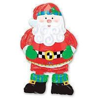Фольгированный шар Ходячая фигура Дед Мороз 97 см