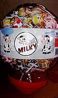 Леденец на палочке Aytop молоко 100 шт.