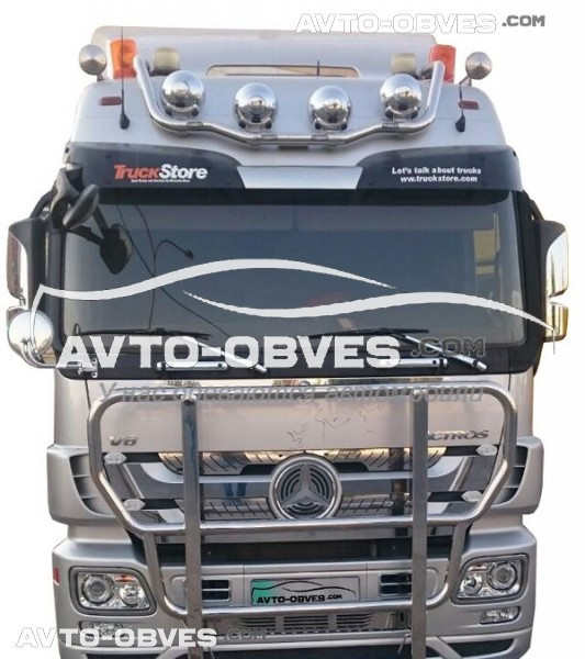 Держатель под фары Mercedes Actros MP2 -> Новая услуга - установка диодов