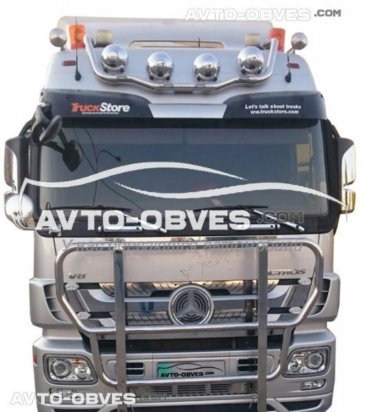 Тримач під фари Mercedes Actros MP2 -> Нова послуга - встановлення діодів
