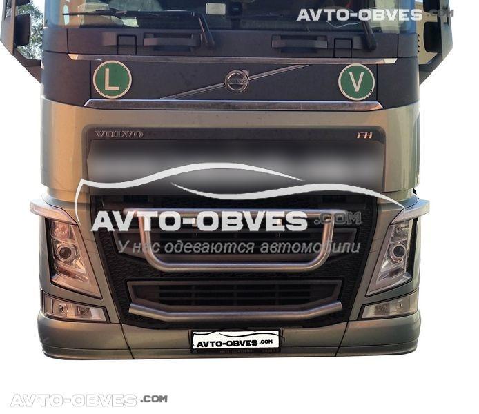 Тримач під фари в решітку Volvo FH16 -> Нова послуга - встановлення діодів