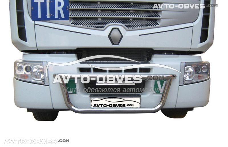 Тримач під фари в решітку Renault Premium -> Нова послуга - встановлення діодів