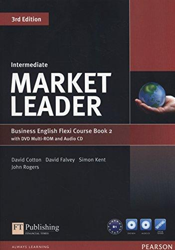 Market Leader (3rd Edition) Intermediate Flexi 2 Course Book + DVD-ROM