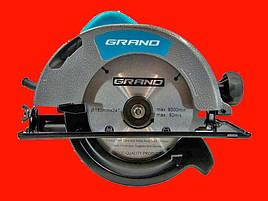 Дисковая пила 1.95 кВт 185 мм GRAND ПД-185-1950