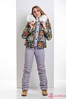 Женский зимний термо комплект, костюм тройка