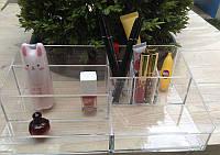 Пластиковый органайзер / бокс / подставка для косметики Super