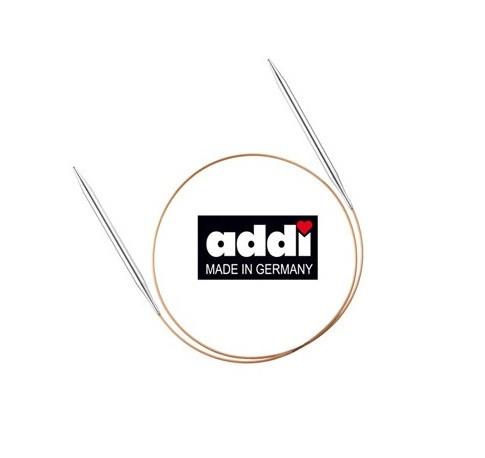 Премиум-спицы Addi, круговые с удлиненным носиком