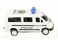 Автобус полиция в пакете