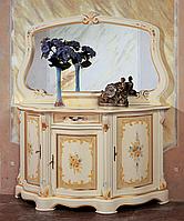 Cornice Barocco Laccata cm 150x06x90