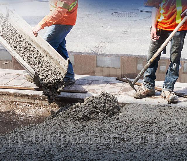 Как применяется бетон