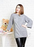 Женский свободный свитер-хулиганка