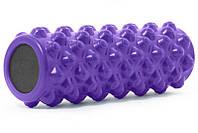 Массажный ролик ProSource Bullet Sports Medicine Roller 36.5х12.7 см Purple