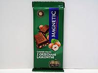 Шоколад Magnetic (молочный) с фундуком 100гр