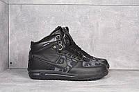 Кроссовки мужские Nike Air Force Lunar Camo high D2494 черные