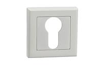 Накладка дверная под цилиндр MVM E8A WHITE (белый)