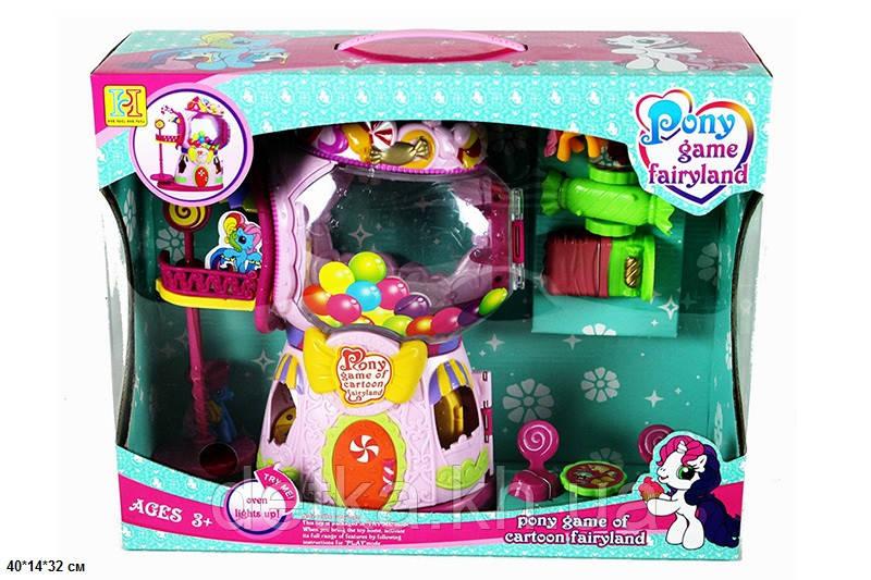 """Кукольный дом 2388 """"My Little Pony"""" с героями мебелью"""