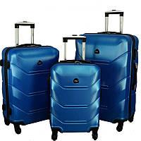 Чемодан Carbon 720 набор 3 штуки синий