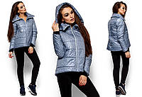 Стеганая женская куртка Англия на зиму (42-48 в расцветках)