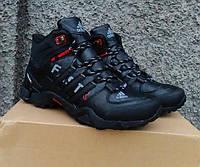 Мужские кроссовки на меху Adidas Terrex FAST R Mid GTX (размеры 41-46)