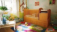 Детская кровать трансформер Аванта LIGHT (детская кровать + кровать для новорожденных + столик + ящик)