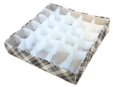 Органайзеры для белья по индивидуальным размерам (модель 30)
