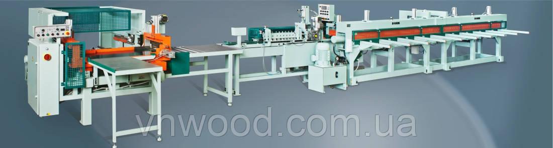 Линия сращивания древесины KADIS DFK-2M, DPK-3