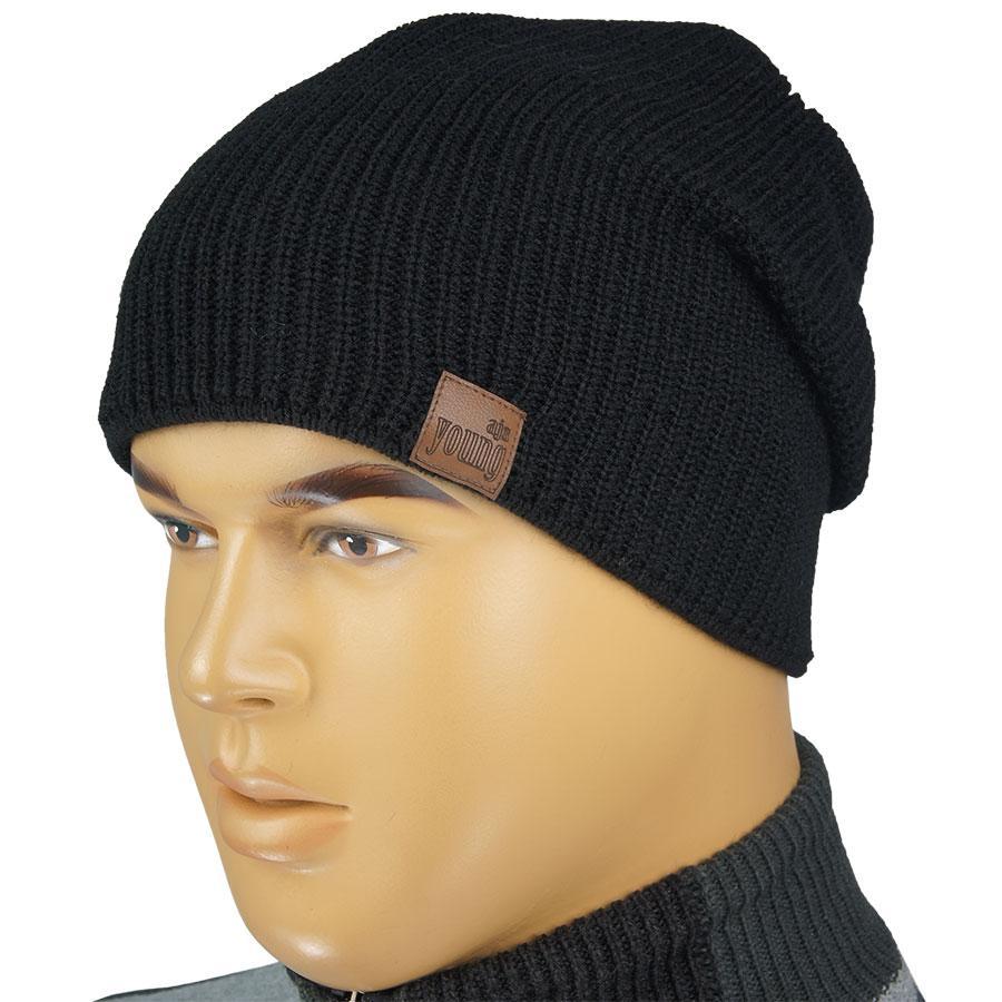 Стильная мужская шапка AJS 0185 разных цветов