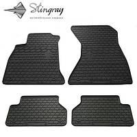 Резиновые коврики Stingray для Audi A4 (B9) 2015-комплект 4 шт.