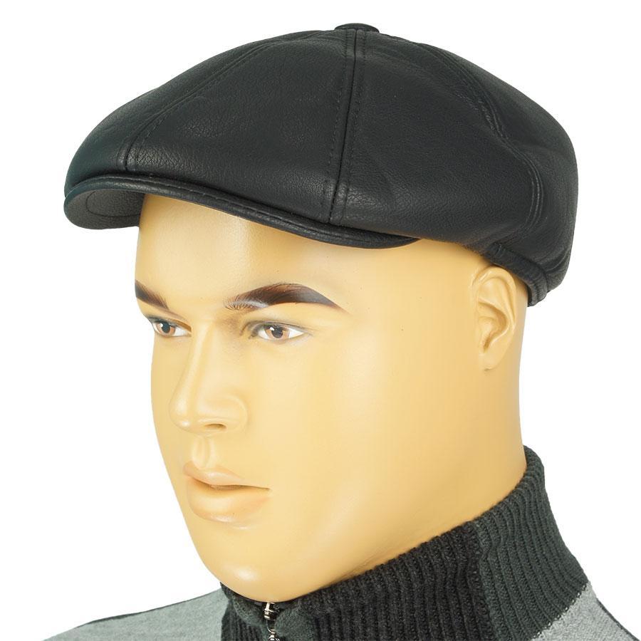 Классическая мужская кепка Magneet 8-SM-DM в черном цвете