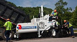 RP-175 гусеничный асфальтоукладчик с базовой шириной укладки 2,5 м Roadtec