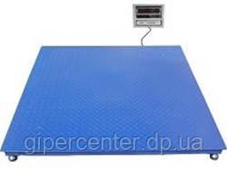 Весы платформенные ВПЕ-центровес-1010-2 до 2000 кг, 1000х1000 мм