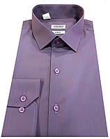 Рубашка мужская приталенная №10-12к. - DACRON 250