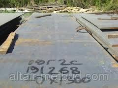 Лист сталь 09Г2С толщина 6 мм
