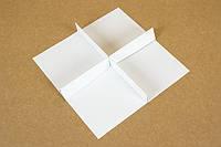 """Перегородка в коробку """"Пряничная"""" М0044-П1 белая, фото 1"""