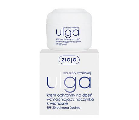 Дневной защитный крем, укрепляющий кровеносные сосуды серии Ulga