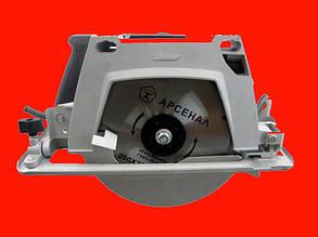 Дисковая пила 2 кВт 200 мм Арсенал ПД-2000